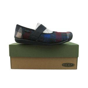 Keen Sienna Mary Jane Flats Womens Size 10 Plaid